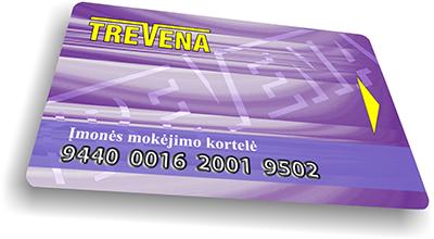 Trevena mokėjimų kortelė